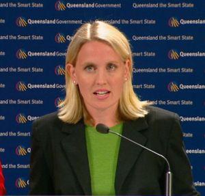 Queensland Minsister Kate Jones