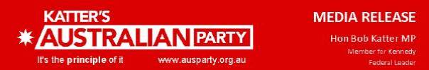 Bob Katter Australia Party media-release