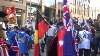 Sydney Rally - (image courtesy of google)