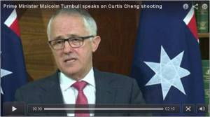 Malcolm Turnbull Parramatta Murder Intereview