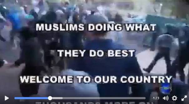 muslim-riot-sydney-video