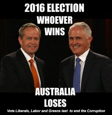 Shorten and Turnbull-The Liberals will not counteract draconian vegetation laws proposed by a new Labor Government
