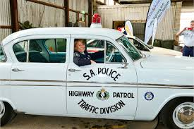South Australian Highway Patrol car