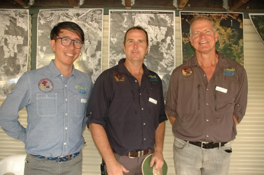 Kur-World executives Harry Sou; Mark Lawson and Neil Boland have a firm commitment to getting the eco-resort approved